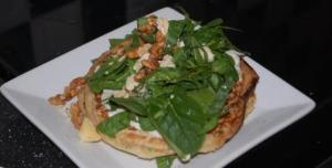Spinach and Stilton Pancakes