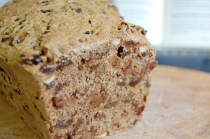 Very fruity vegan fruit cake