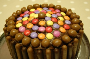 Gone Dotty Chocolate Cake