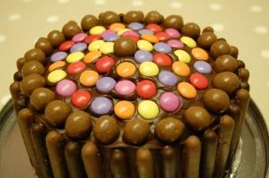 Gone Dotty Chocolate Cake