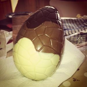 Egg making at Easter